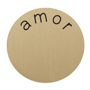 Picture of 'Amor' Medium Gold Coin